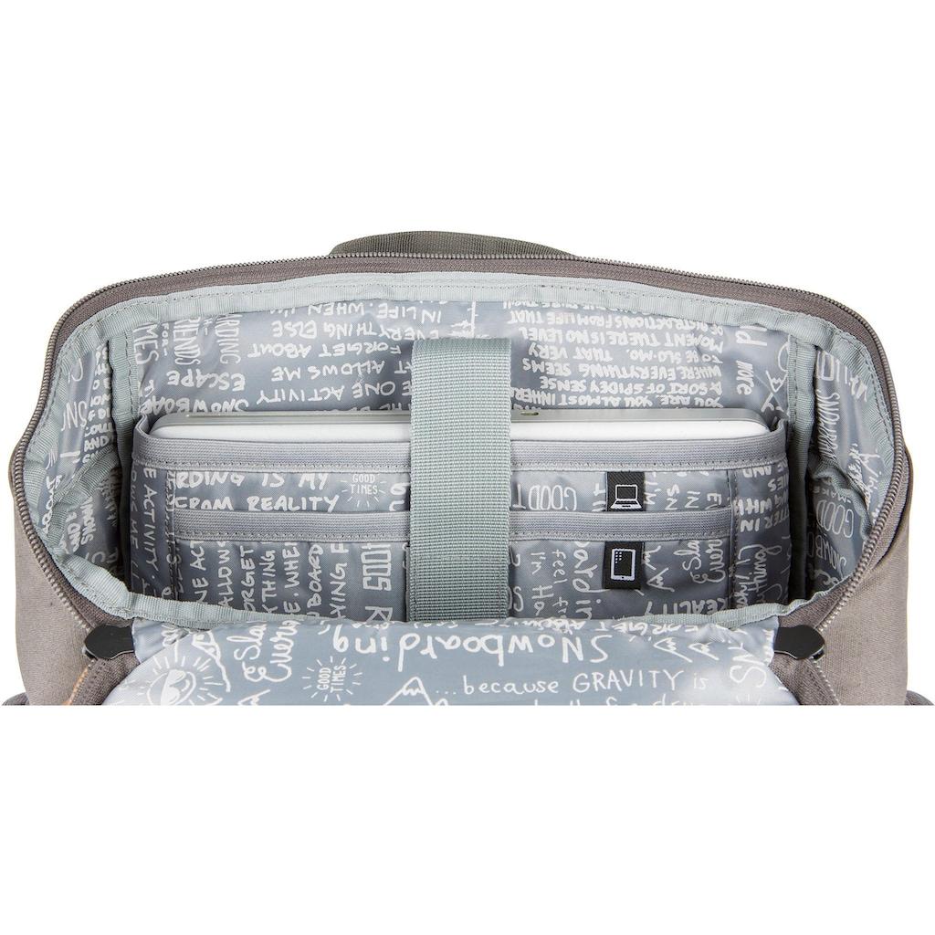 NITRO Freizeitrucksack »Daypacker, Waxed Lizard«, mit Laptopfach