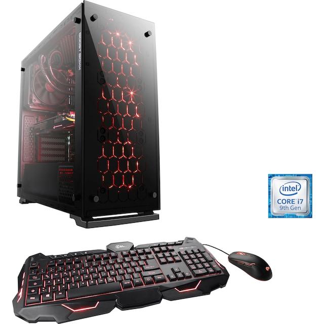 CSL »RGB Gaming Edition T9005« Gaming-PC (Intel®, Core i7, RTX 2070, Wasserkühlung)