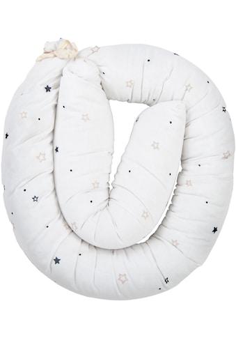 Baby Best Bettnestchen »Sterne, weiß«, Nestchenschlange für das Babybett kaufen