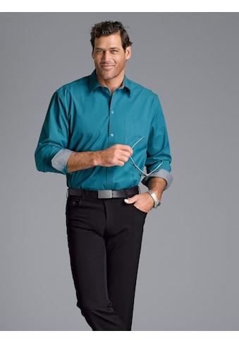 Men Plus by HAPPYsize Langarmhemd, Spezialschnitt kaufen