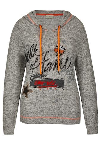 "VIA APPIA Lässiger Pullover ""Walk of fame"" Plus Size kaufen"