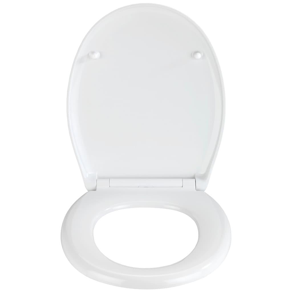 WENKO WC-Sitz »Stream«, Duroplast, mit Absenkautomatik