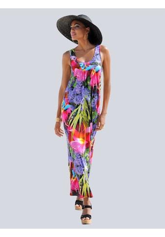 Alba Moda Strandkleid in tropischer Farbigkeit kaufen