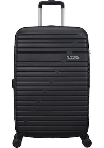 American Tourister® Hartschalen-Trolley »Aero Racer, 68 cm, jet black«, 4 Rollen kaufen