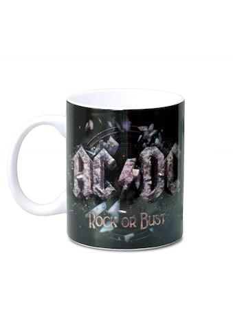 LOGOSHIRT Tasse mit tollem Band - Print »AC/DC  -  Rock Or Bust« kaufen