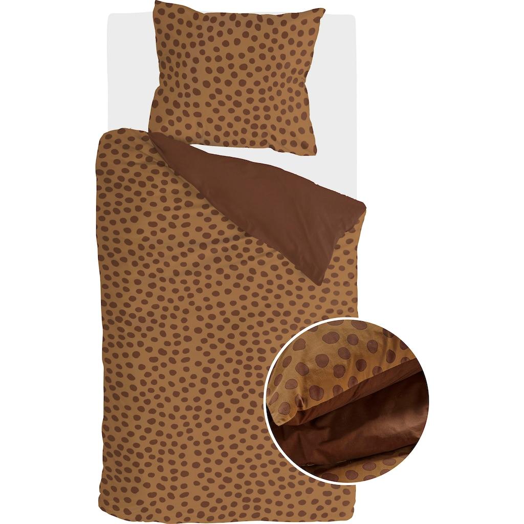 Walra Wendebettwäsche »Spots & Dots«, mit handgezeichneten Punkten