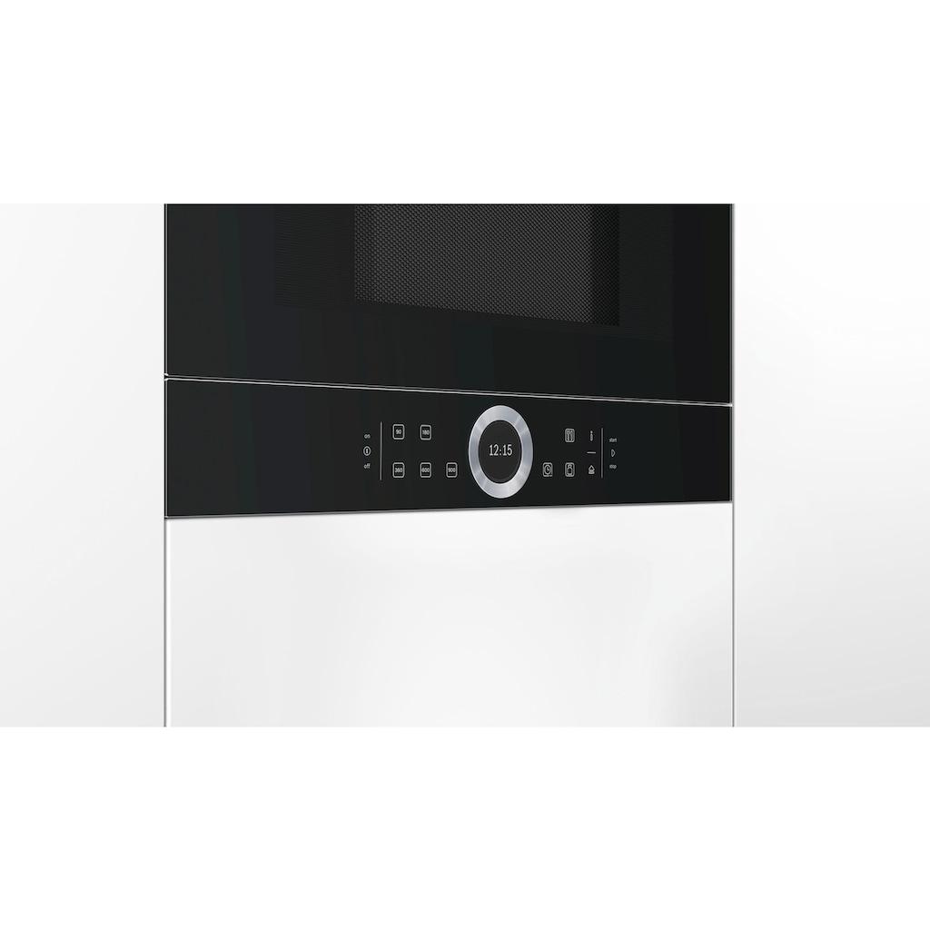 BOSCH Einbau-Mikrowelle »BFL634GW1«, Mikrowelle, 900 W