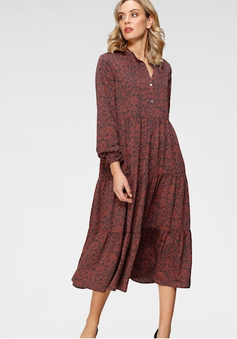 Levi's® Blusenkleid »Marion LS«, mit Volant am Saum kaufen