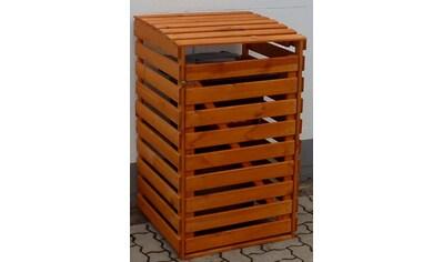 PROMADINO Mülltonnenbox , für 1x120 l aus Holz, B/T/H: 68/63/111 cm kaufen