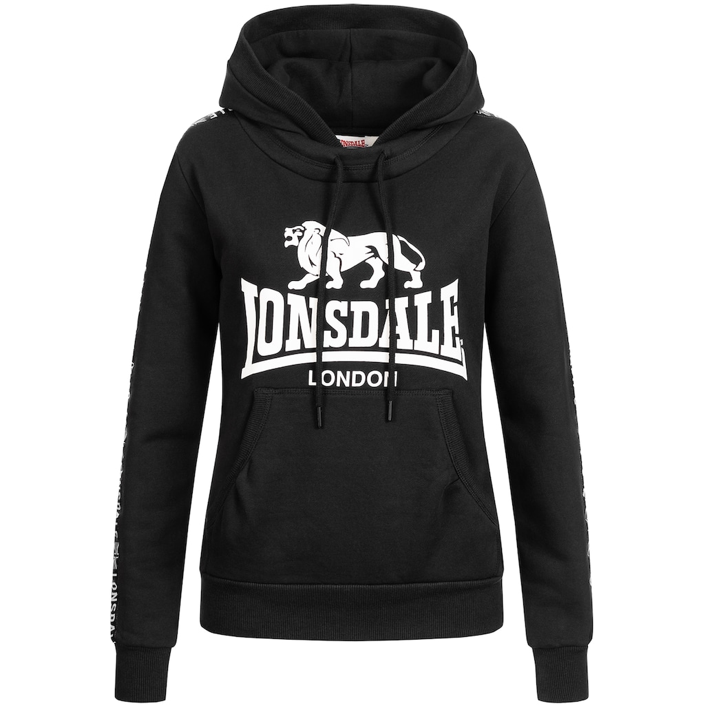 Lonsdale Kapuzensweatshirt »DIHEWYD«, mit großem Markenprint auf der Front