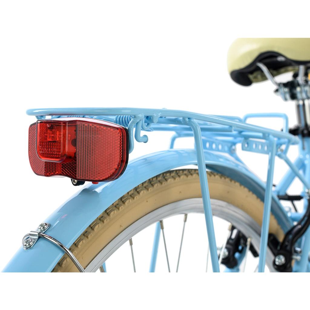 KS Cycling Cityrad »Cantaloupe«, 6 Gang, Shimano, Tourney Schaltwerk, Kettenschaltung