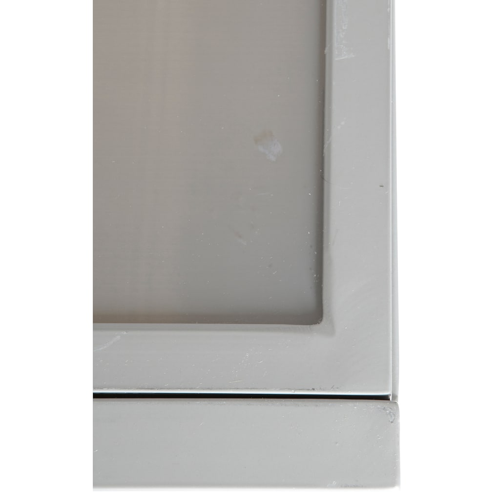 MERXX Gartenmöbelset »Amalfi«, (9 tlg.), 8 Hochlehner, Tisch 100x180-240 cm, Alu/Textil