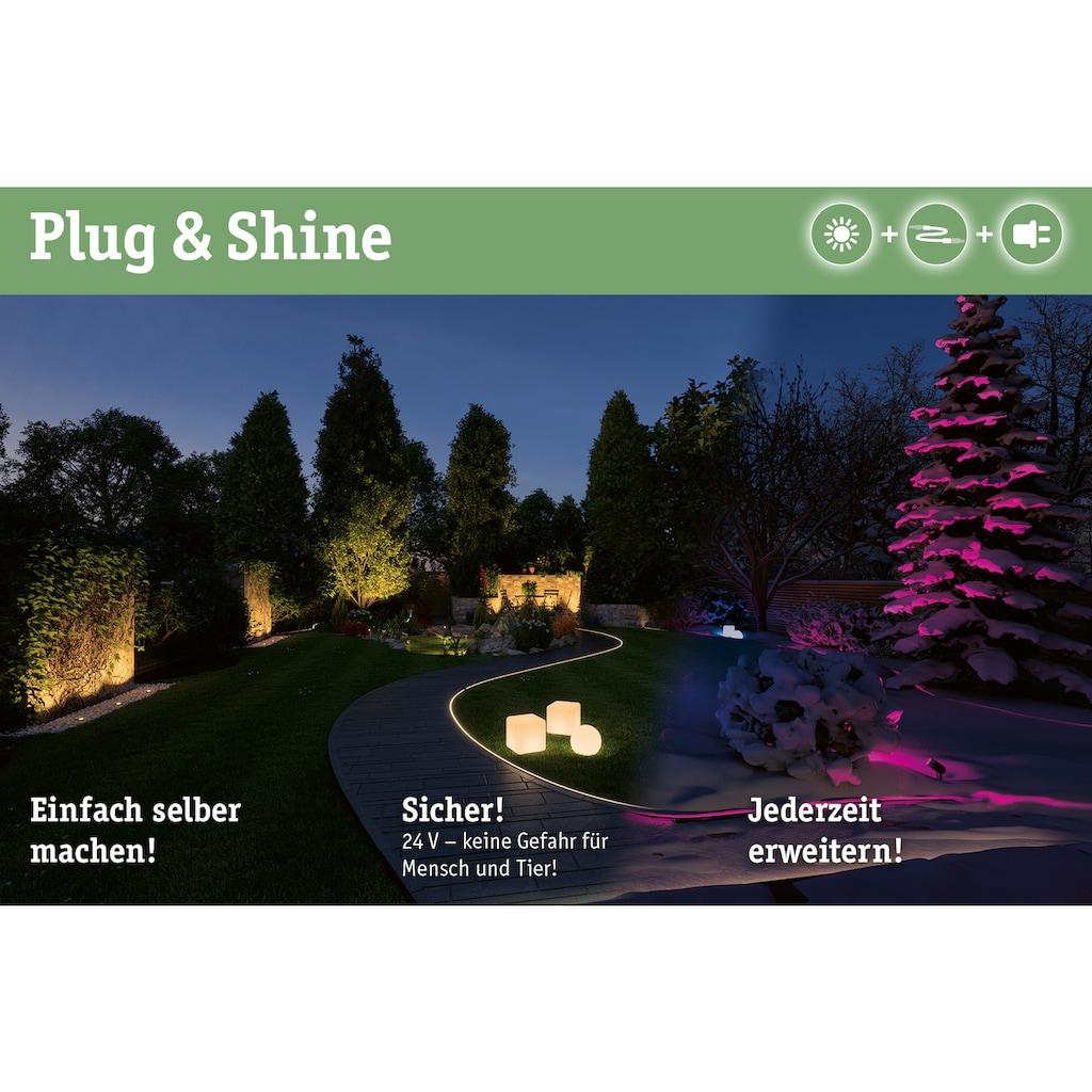 Paulmann Trafo »Outdoor Plug & Shine Power Supply Schwarz Kunststoff«, IP44 230/24V DC 21W