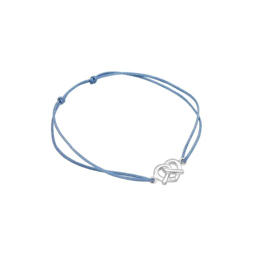 Elli Armband »Brezel Wiesn Oktoberfest Tracht Nylon 925 Silber«
