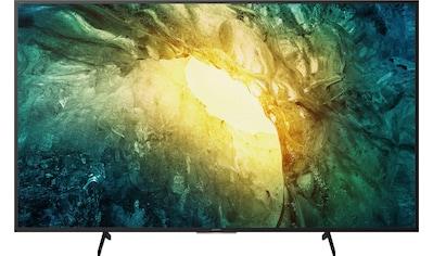 "Sony LED-Fernseher »KD65X7055 Bravia«, 164 cm/65 "", 4K Ultra HD, Smart-TV, Bravia kaufen"