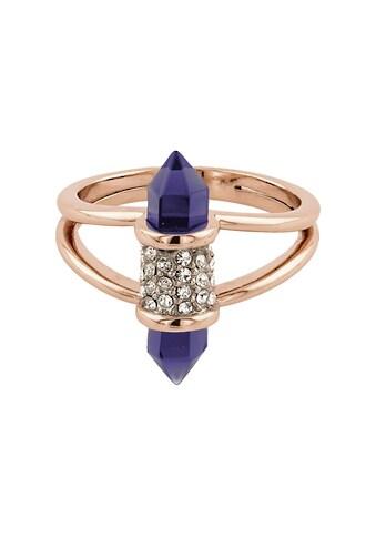 Buckley London Ring rosévergoldet mit Kristallen und Glas kaufen