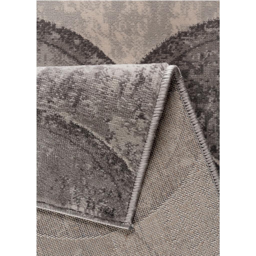 Sehrazat Orientteppich »Montana 3730«, rechteckig, 8 mm Höhe, Wohnzimmer