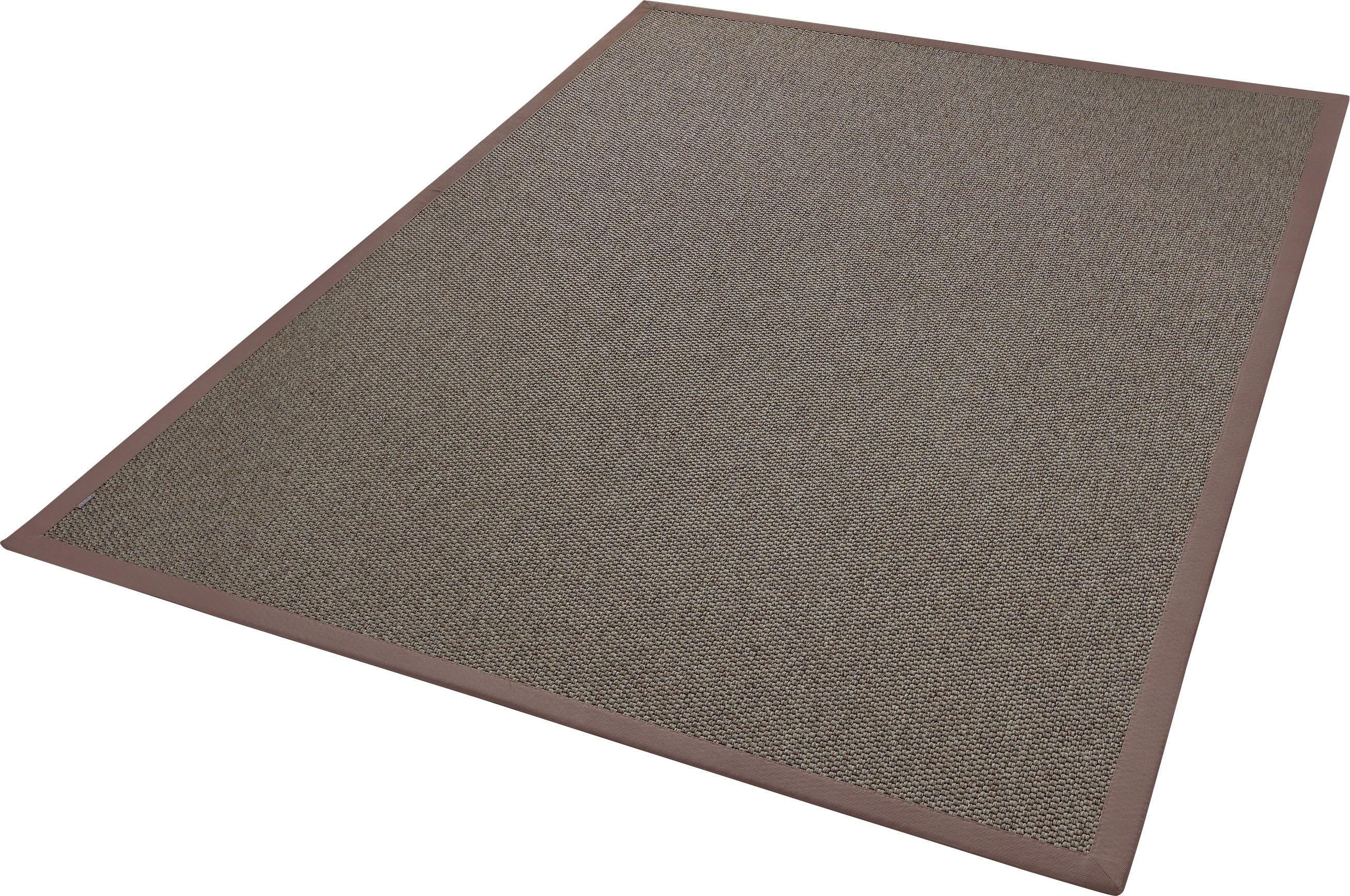 Teppich Naturana Panama Dekowe rechteckig Höhe 8 mm maschinell gewebt