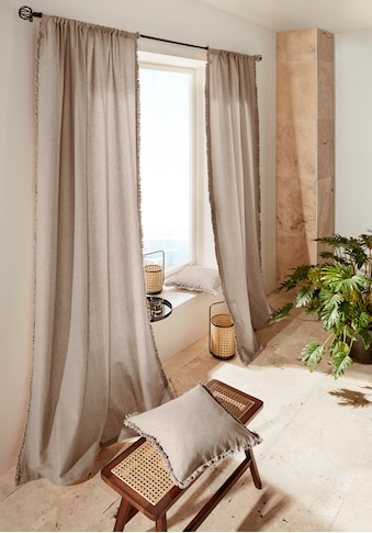 LeGer Home by Lena Gercke Vorhang »LENI«, Bio-Baumwolle kaufen
