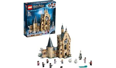 LEGO® Konstruktionsspielsteine »Hogwarts™ Uhrenturm (75948), LEGO® Harry Potter«, (922 St.), Made in Europe kaufen
