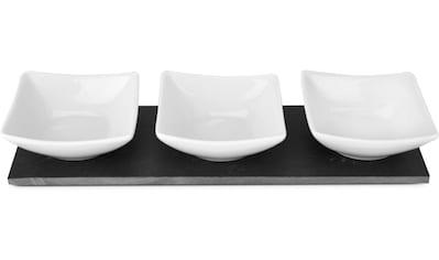 """ROMINOX Servier - Set """"Tre Ardesia"""", Schiefer Keramik, (Set, 4 - tlg.) kaufen"""
