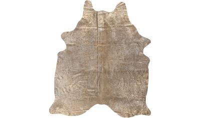 Fellteppich, »Rinderfell Deluxe«, LUXOR living, fellförmig, Höhe 4 mm kaufen