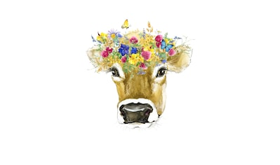 queence Leinwandbild »Kuh« kaufen