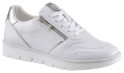 bugatti Keilsneaker »NICKI«, mit silberfarbenem Kontrastbesatz kaufen