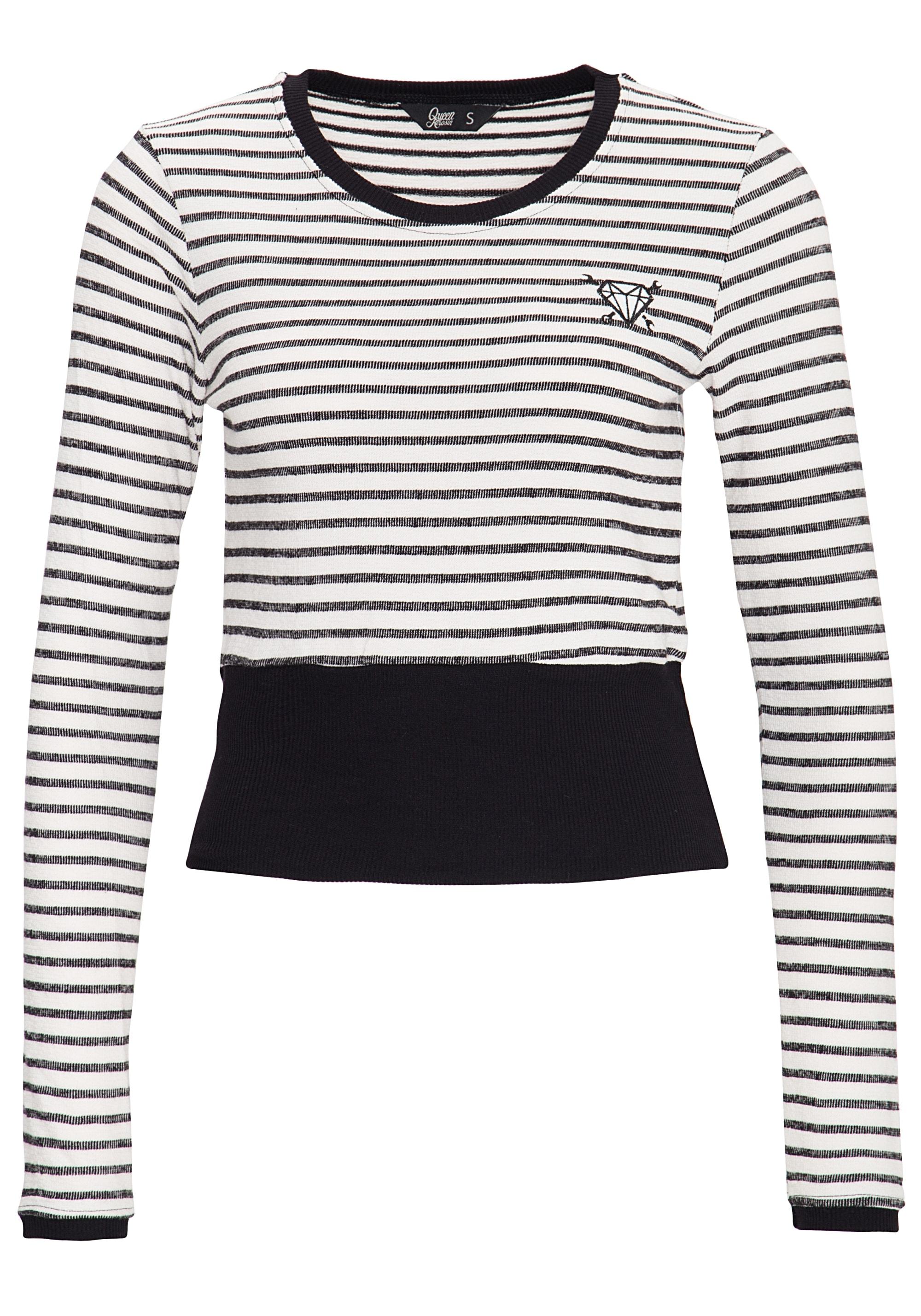 QueenKerosin Streifenpullover | Bekleidung > Pullover > Streifenpullover | Queenkerosin