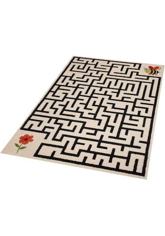 Kinderteppich, »Labyrinth«, Zala Living, rechteckig, Höhe 9 mm, maschinell gewebt kaufen