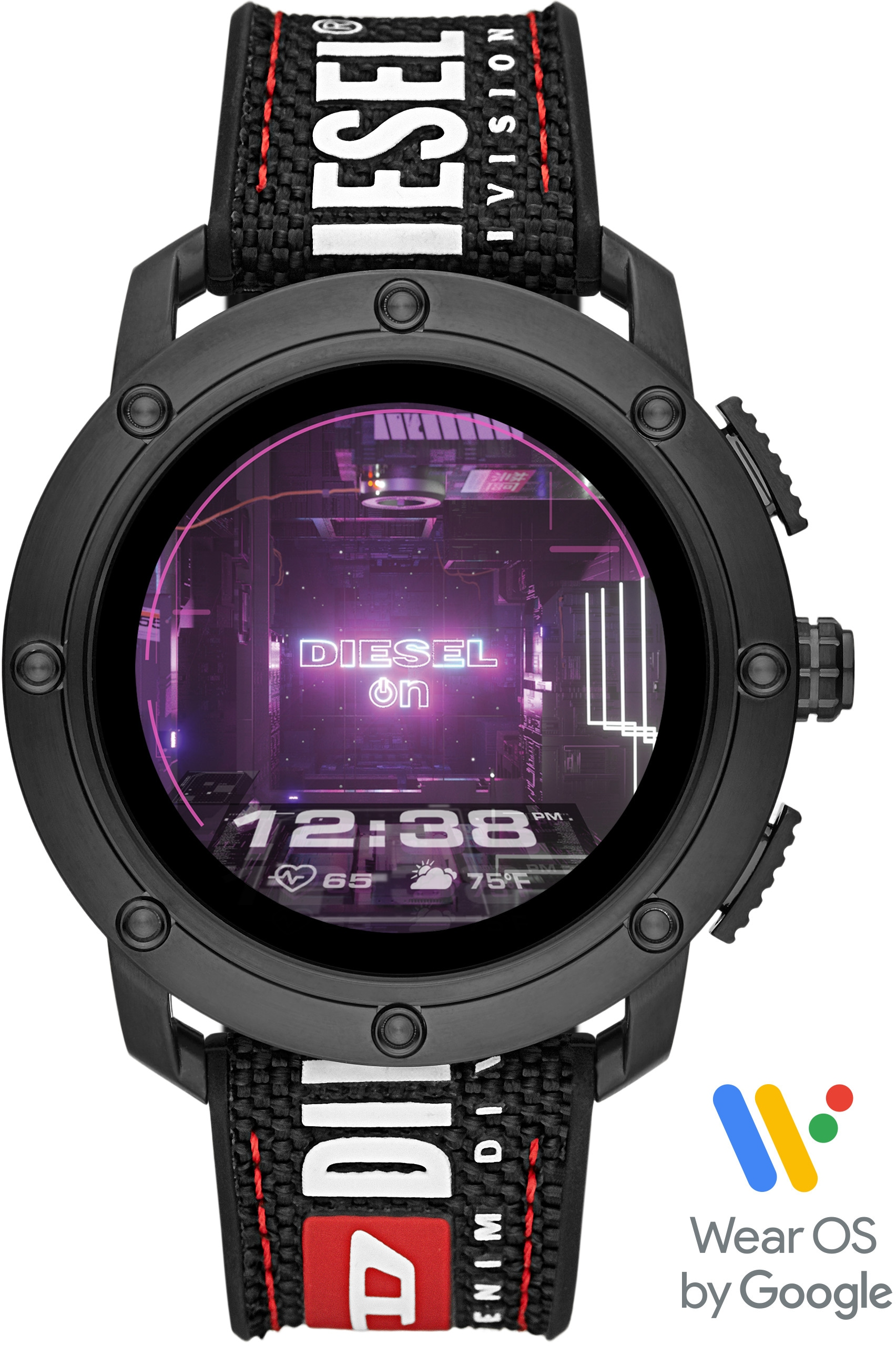 DIESEL ON AXIAL, DZT2022 Smartwatch (Wear OS by Google) | Uhren > Smartwatches | Diesel On