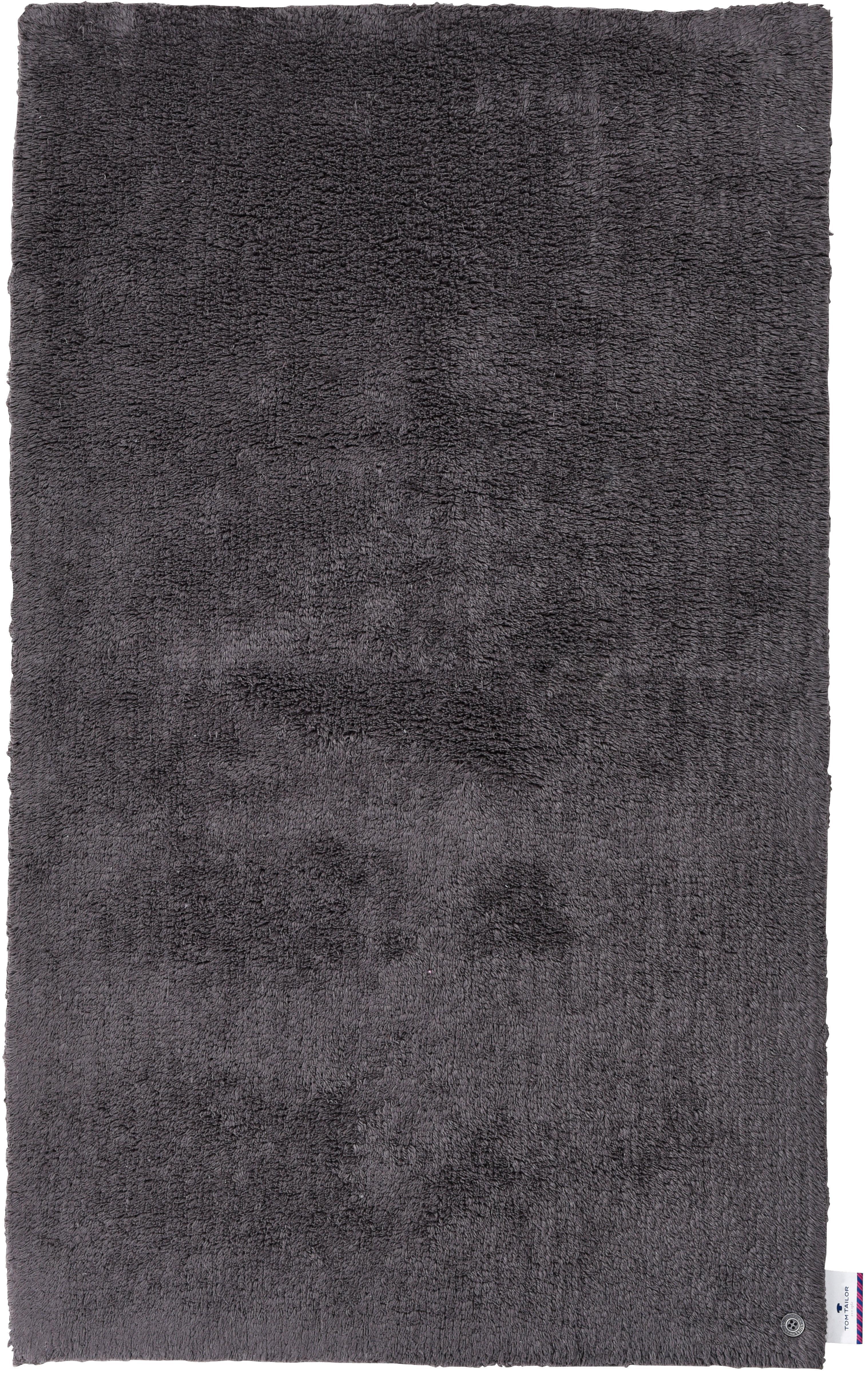 Badematte Cotton Double Uni TOM TAILOR Höhe 20 mm