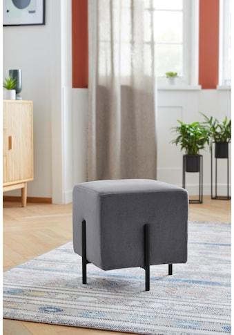 COUCH♥ Pouf »Knautschis«, In verschiedenen Farbvarianten enthältlich, Sitzhöhe 42 cm kaufen
