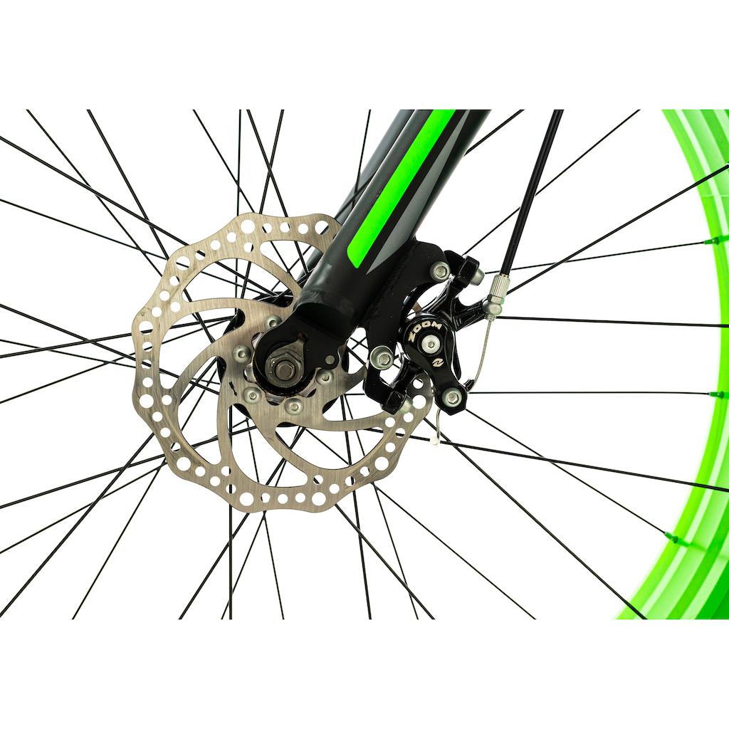 KS Cycling Fatbike »Fat - XTR«, 7 Gang, Shimano, Tourney Schaltwerk, Kettenschaltung