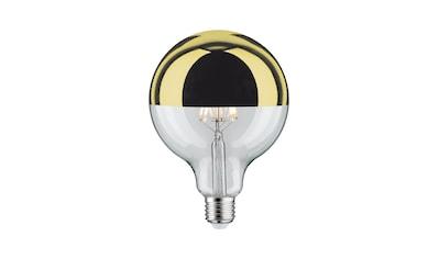 Paulmann »Globe 125 Kopfspiegel Gold 5W E27 Warmweiß dimmbar« LED - Leuchtmittel, E27, Warmweiß kaufen