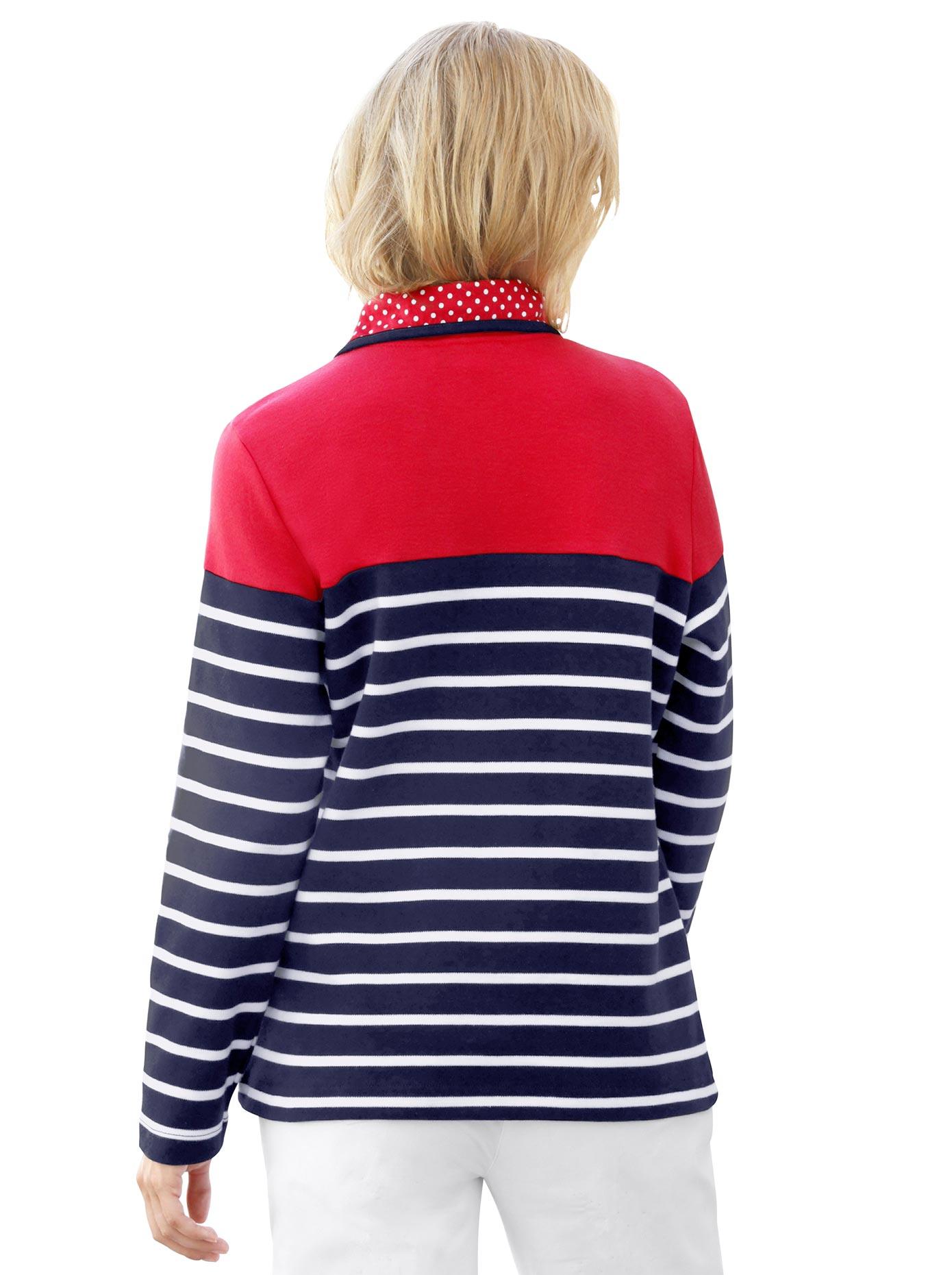casual looks -  Shirt im formstabilem Interlock