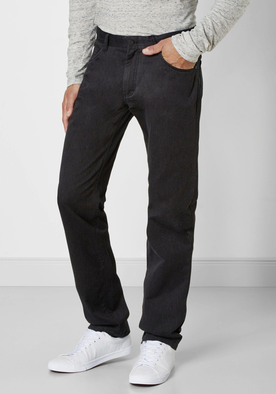 Redpoint modische Stretch 5-Pocket Ontario | Bekleidung > Hosen > Stoffhosen | Schwarz | Elasthan | Redpoint