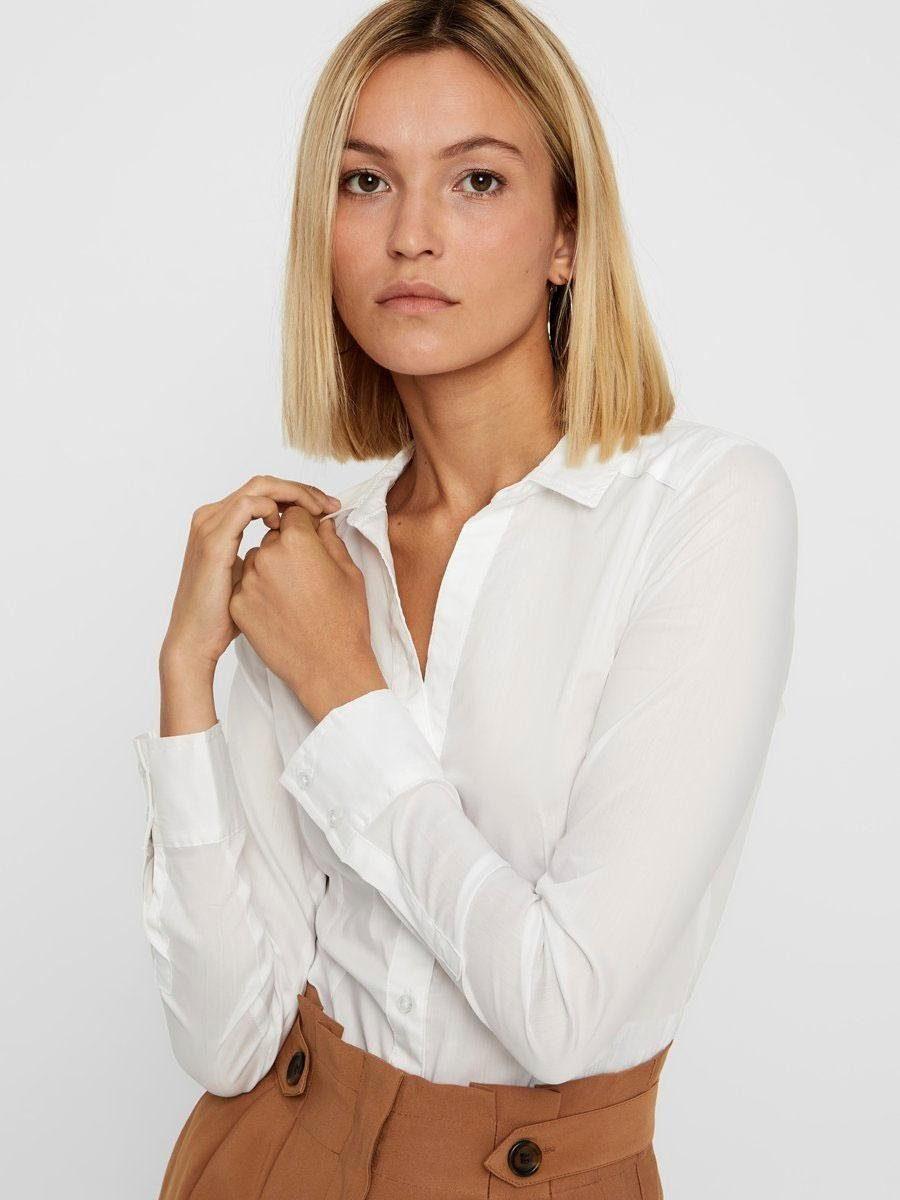 Vero Moda Blusenbody LADY   Unterwäsche & Reizwäsche > Bodies & Corsagen > Blusenbodys   Weiß   Vero Moda