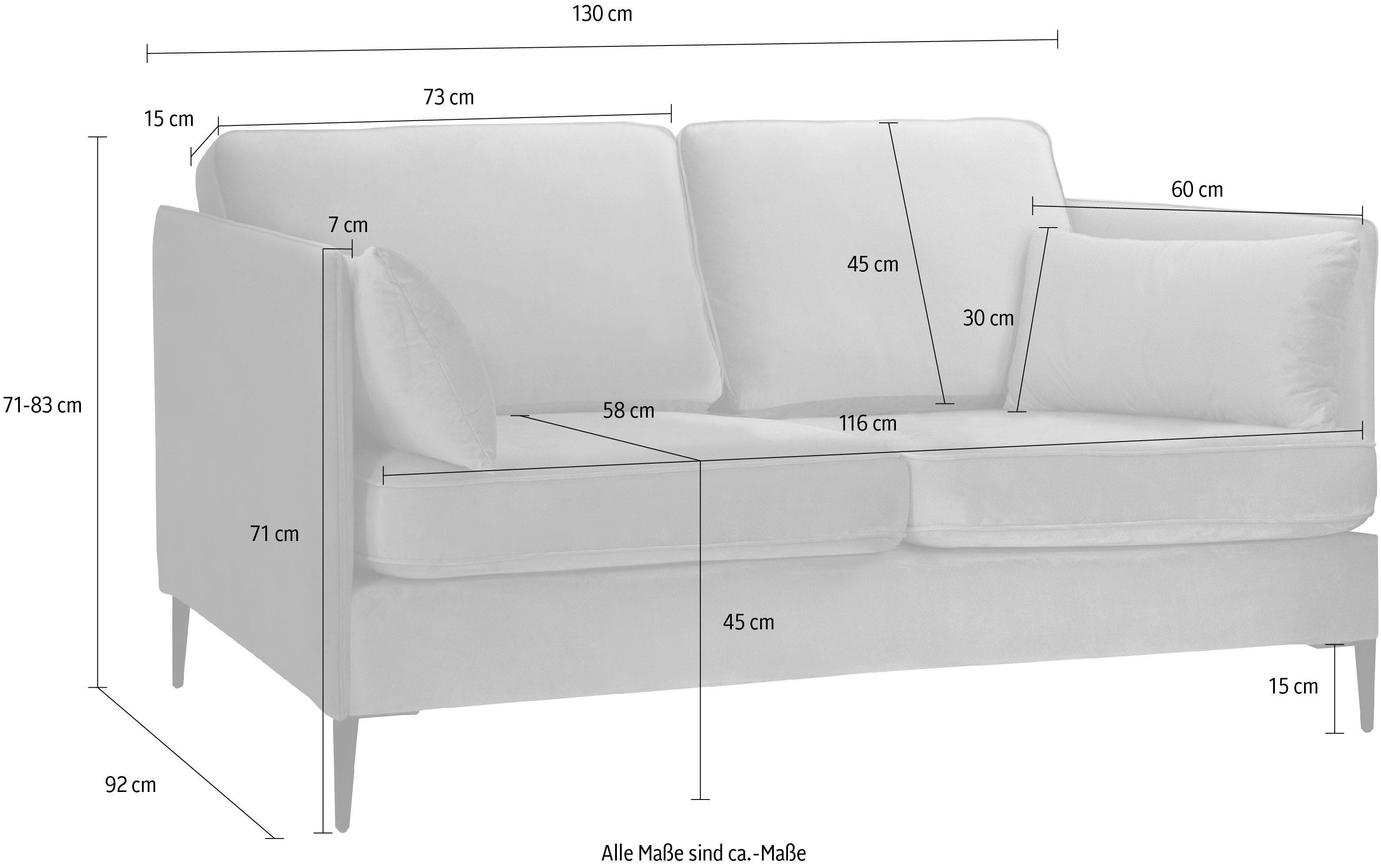 Leonique 2-Sitzer Light