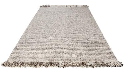Wollteppich, »Lasse«, LUXOR living, rechteckig, Höhe 18 mm, handgewebt kaufen