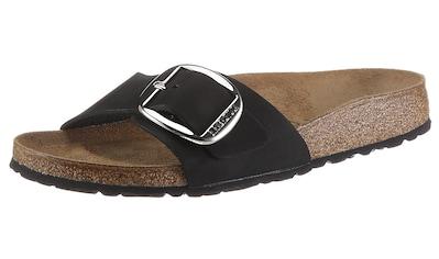 Birkenstock Pantolette »Madrid«, aus Nubukleder, schmale Schuhweite kaufen