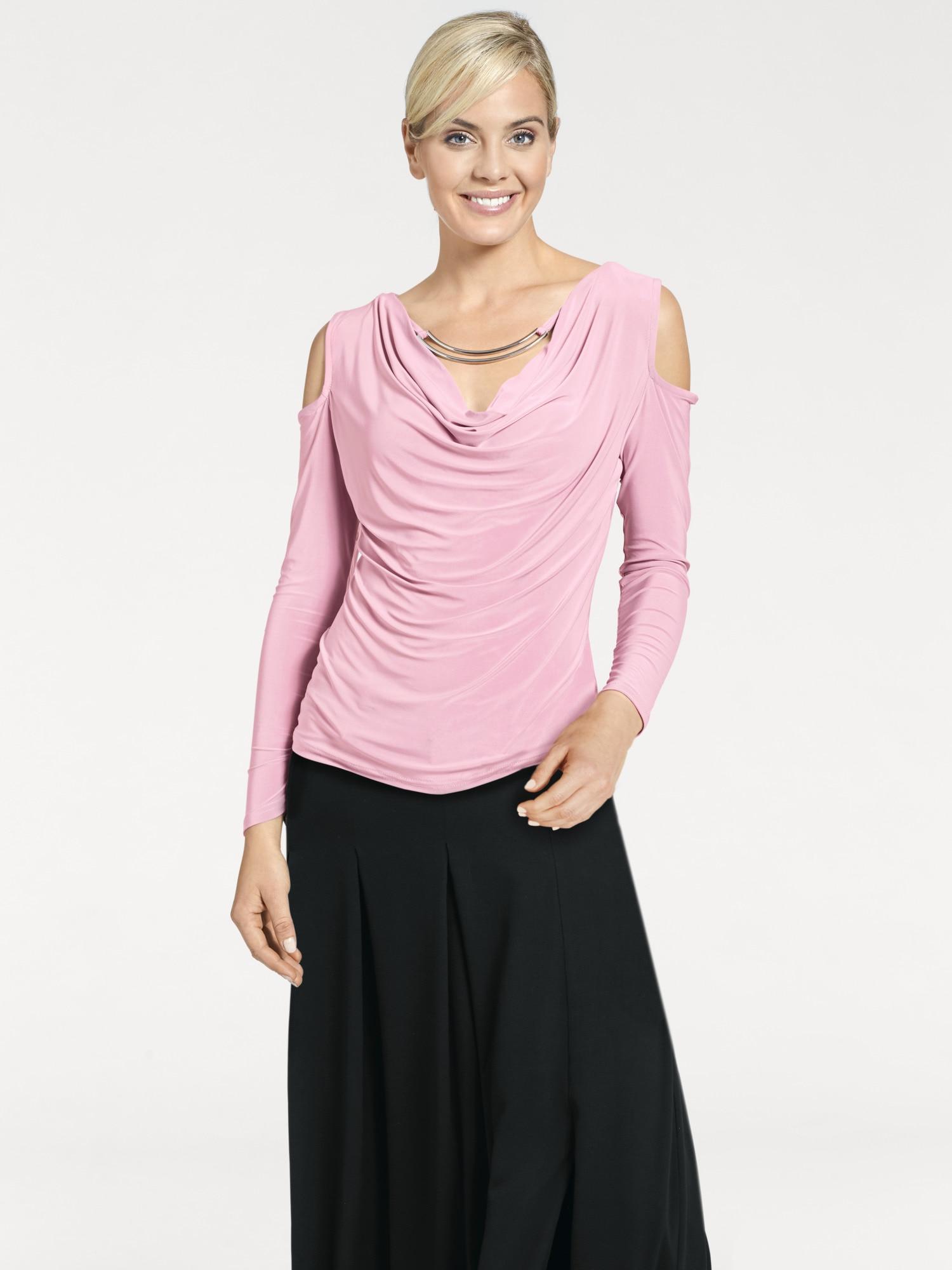 heine -  TIMELESS Shirt mit Cut-Outs