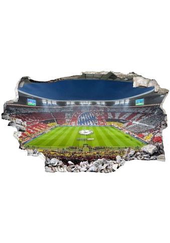 Wall-Art Wandtattoo »FCB Stadion Immer weiter« kaufen