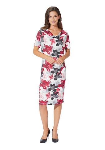 Jersey - Kleid in floralem Dessin kaufen