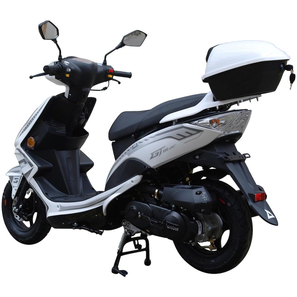 GT UNION Motorroller »GT3«, 3 PS, inkl. Topcase