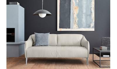 W.SCHILLIG 2,5-Sitzer »sally«, mit Metall-Winkelfüßen in Silber matt, Breite 194 cm kaufen