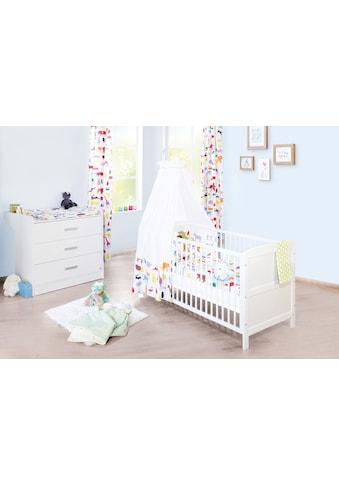 Pinolino® Babymöbel-Set »Viktoria«, (Spar-Set, 2 St.), breit; mit Kinderbett und... kaufen