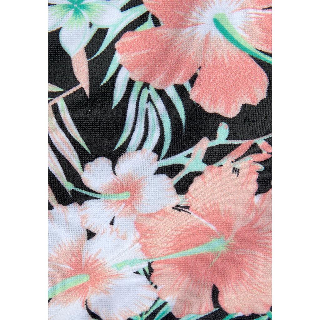 Chiemsee Bustier-Bikini, im tropischen Print