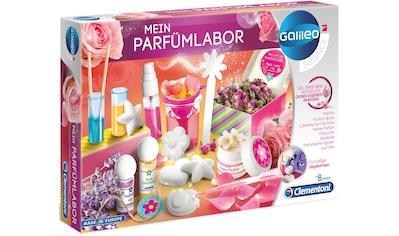 Clementoni® Experimentierkasten »Galileo - Mein Parfümlabor«, Made in Europe kaufen