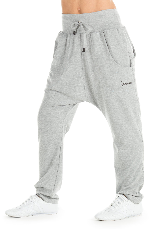 Winshape Haremshose UNISEX 4Pocket Pants WH13 | Bekleidung > Hosen > Haremshosen | Grau | Elasthan | Winshape
